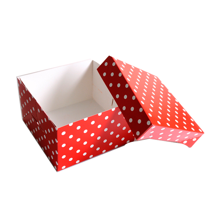Wholesale popular high quality design cake box packaging