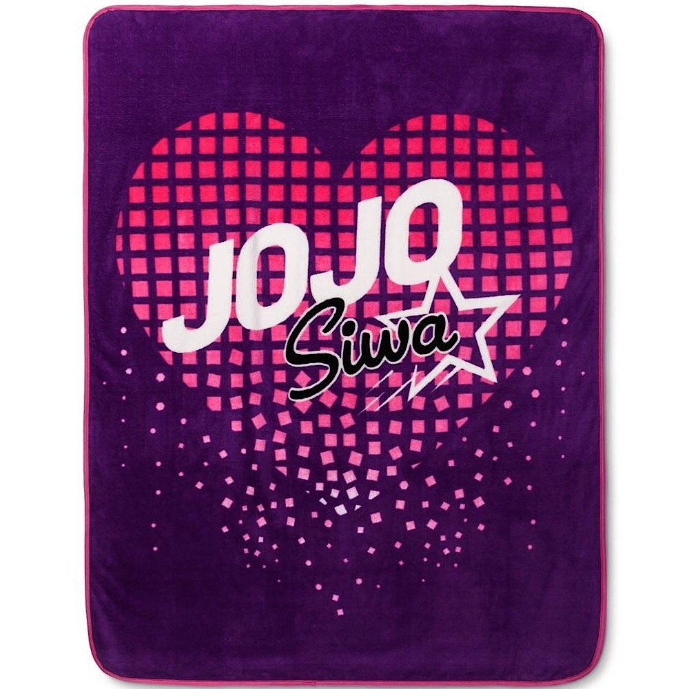Nickelodeon Jojo Siwa Purple Throw Blanket