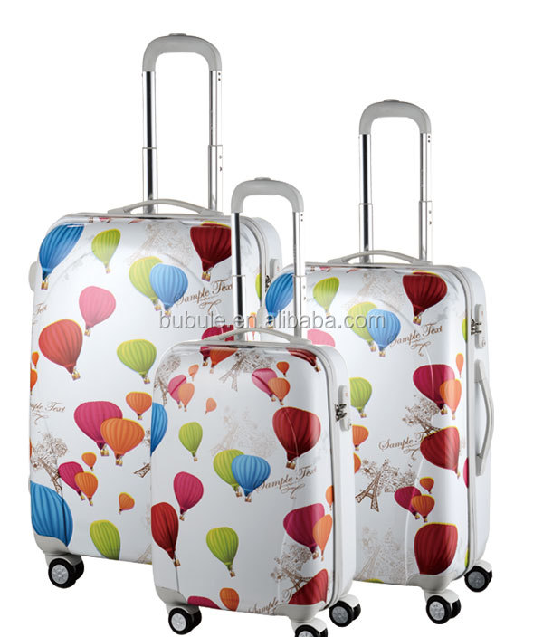 Famous Luggage Brands Hard Plastic Trolley Cases Plastic Cover ...