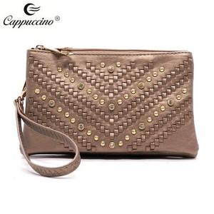 Favorites Compare Banjara hand made Rhinestone Woven Clutch bag