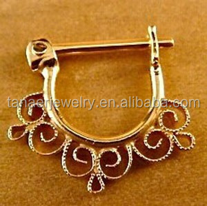 Hot sales Septum Ring,Nose ring 14K Rose Gold,nose piercing septum