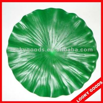 artificial decorative water lily leaf,big green lotus leaf