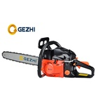Agriculture Garden Tools 2 Stroke Gasoline Chain Saw Wood Cutting Machine