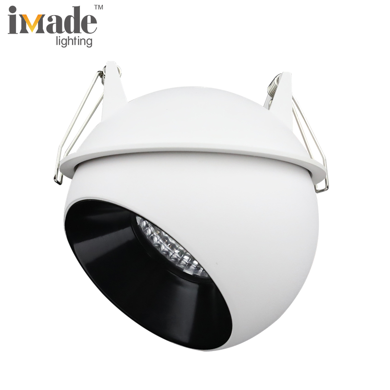 Cob 9w recessed dimmable 220v OEM led downlight