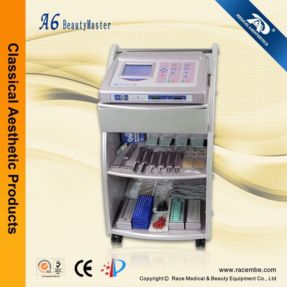 A6--Microcurrent Face Lift Machine Toning BIO (CE, ISO13485)