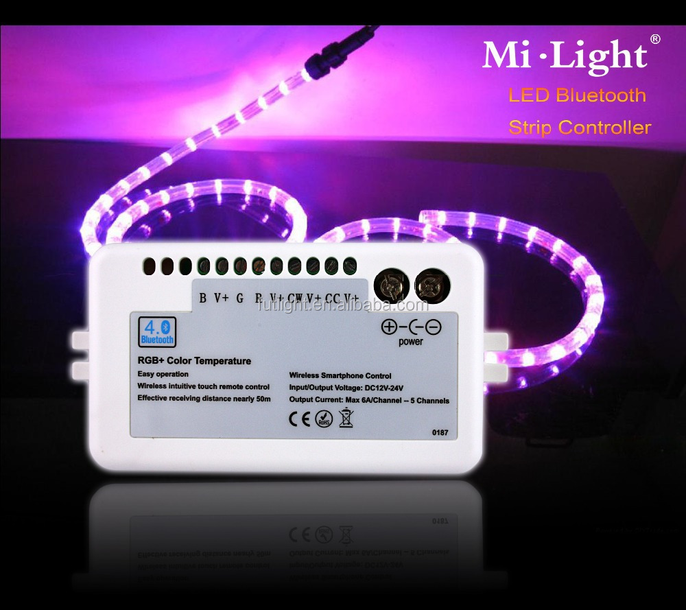 Mi light hot sale mini rgb led controller bluetooth strip light mi light hot sale mini rgb led controller bluetooth strip light controller music color flash chasing mozeypictures Image collections