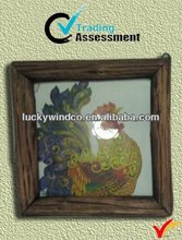 Luckywind antique vintage wooden becautiful frame for pictures