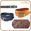 new top quality Genuine Ostrich grain Body Leather Belt for men