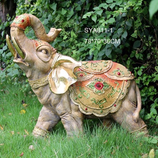 Large animal statue garden elephant sculpture for outdoor decoration