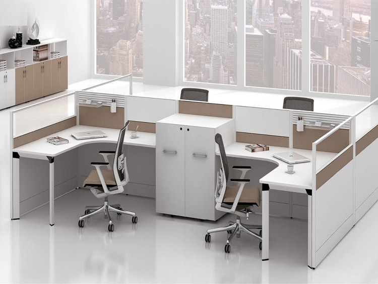 Mordern Design Sfs C Series System Office Furniture White