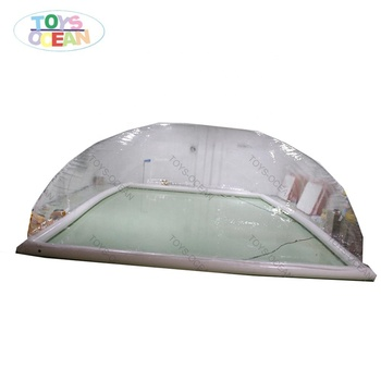 Outdoor Waterproof Inflatable Clear Transparent Pool Cover Dome Tent