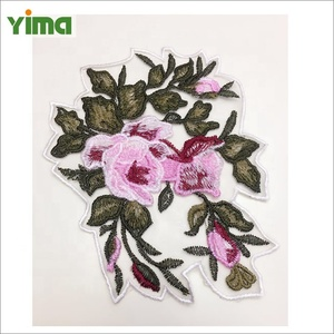 Chinese traditional embroidery patch hand embroidery designs clothing decorative patch