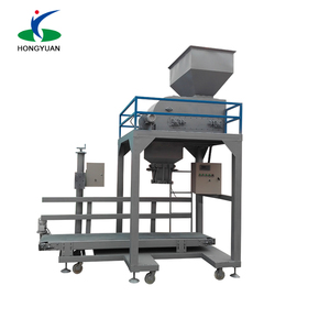 weighing and bagging system, sand packaging machine, fertilizer bagging machine