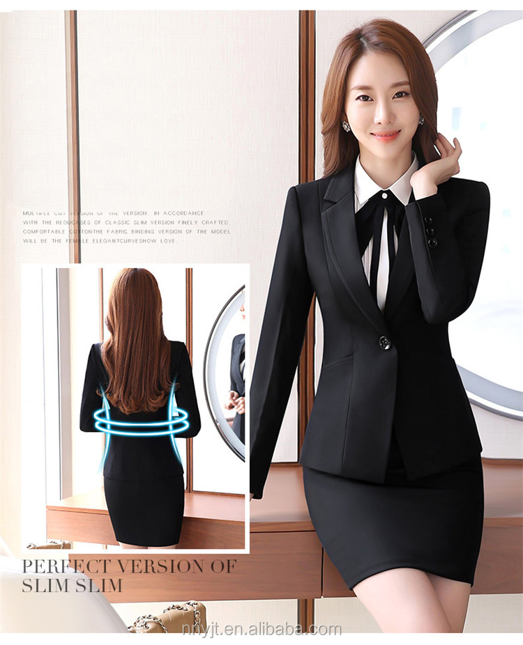 pictures of design skirt suit