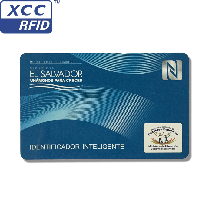 ISO 15693 / ISO 18000-3 HF smart RFID cards