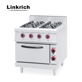 4 Burner Gas Stove Cooker