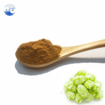 2018 the newest batch Hops Flower Extract with Flavonoid/Humulus Lupulus Extract