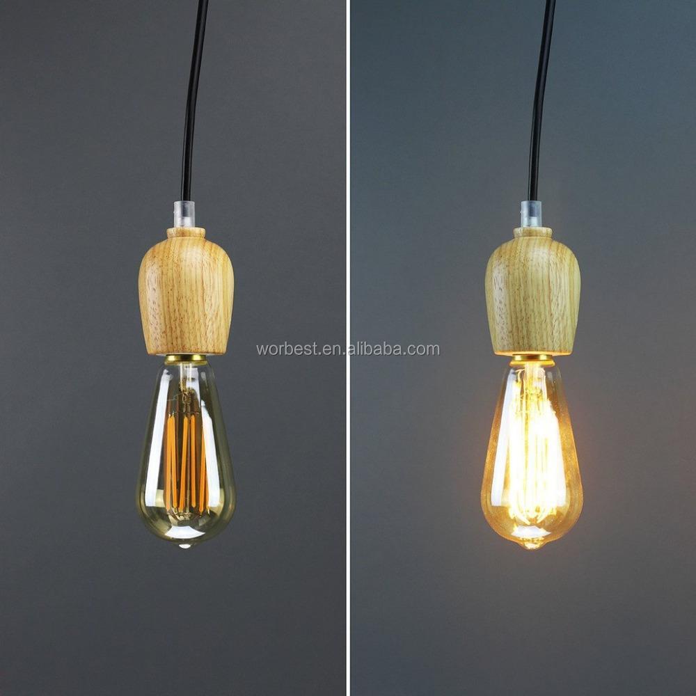 100 Watt Edison Light Bulb Equivalent Led 6000k St64 Dimmable ...