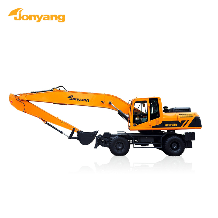 ISO hydraulic long reach boom long arm excavator
