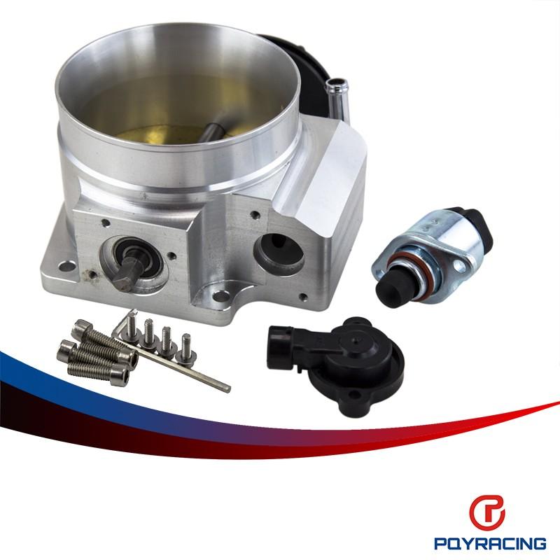 92mm Throttle body W// TPS /& IAC Throttle Position Sensor For LSX LS LS1 LS2 LS7