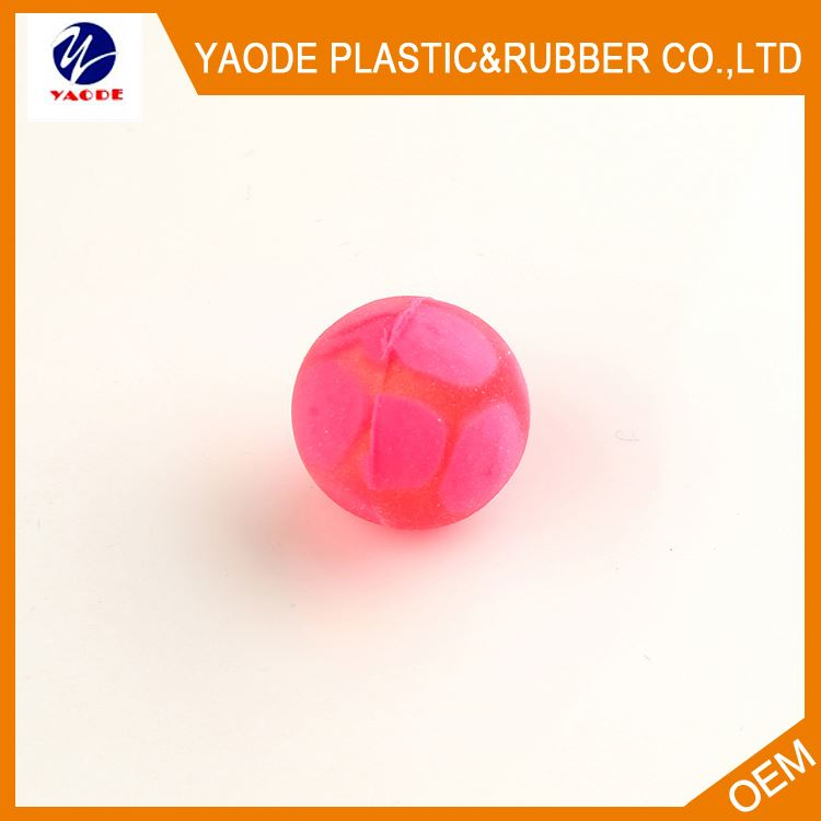 New selling super quality small jumping rubber ball from manufacturer