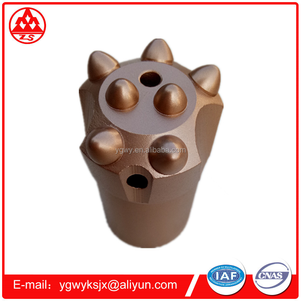 Hight strength customized 45CrNiMoV or 42CrMo Steel marble quarrying bits
