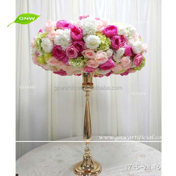 Gnw ctra 1708005 pink white artificial silk flower table wedding gnw ctra 1708005 pink white artificial silk flower table wedding centerpieces mightylinksfo