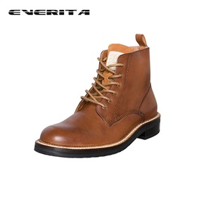 High Quality Genuine Leather Boot Men Goodyear Welt Boot