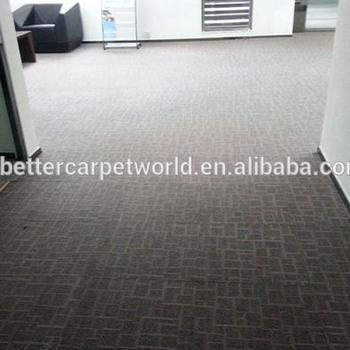Lower Price Office Carpet Floor Tiles Washable Hexagon Tile