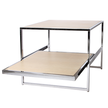2 Layer Nesting Tables For Retail Display Clothes Rack With Pull Out Drawer Drawer Type Racks Buy 2 Layer Nesting Tables For Retail