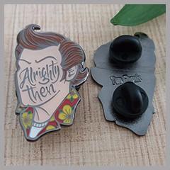 shenzhen custom hard enamel pin