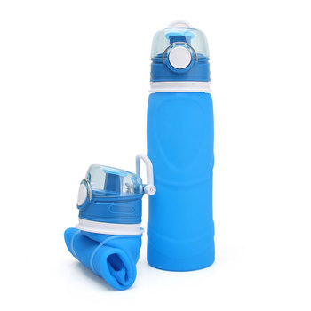 New Products Foldable Active Carbon Filter Water Bottle
