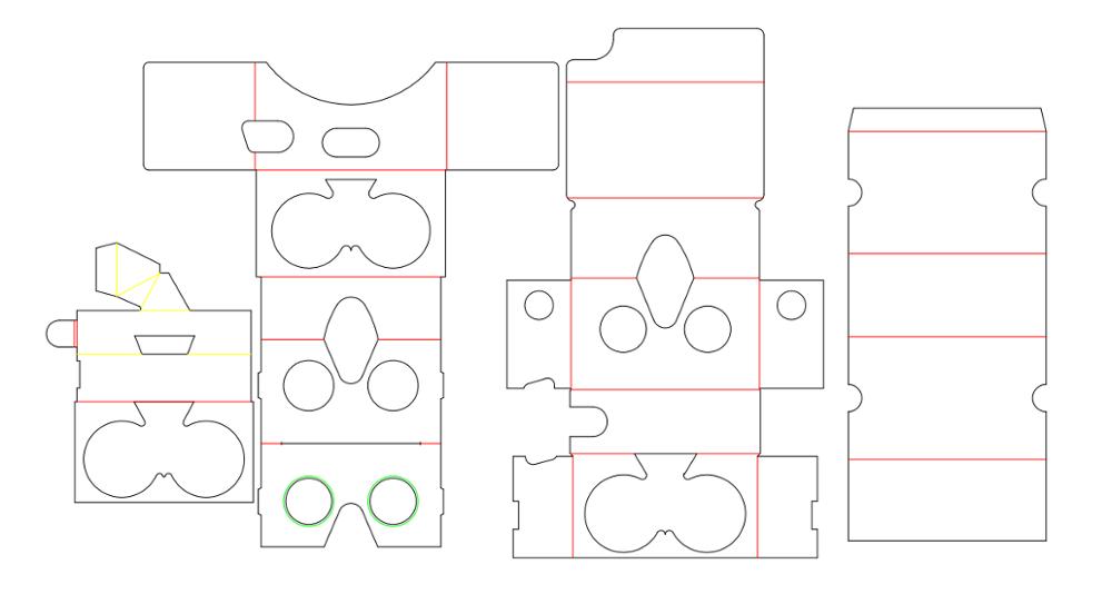 312c501ca94 90%-95% DISCOUNT Google Cardboard lenses 37mm virtual reality 3D Smart  phone VR