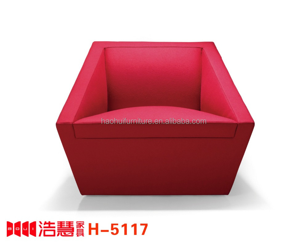 fabric Sofa with Armrest Living Room Sofa Luxury Furniture Office Classical single seater Seat sofa