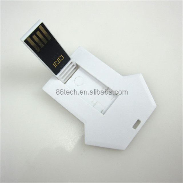 Platte Flash Card USB 2.0 64 mb tot 128 gb Geheugenkaart USB Blank H