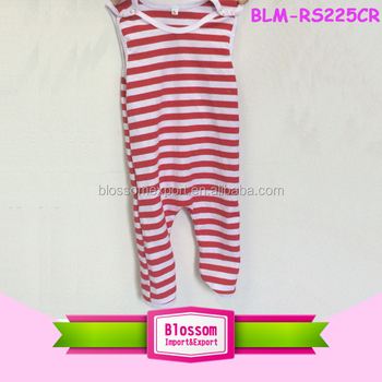 f9f950aea Toddlers Garments Red Striped Christmas Baby Clothes New Born ...