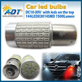 144leds Ba15s Smd 1156 Car Led Auto Tail Back-up Parking Stop ...