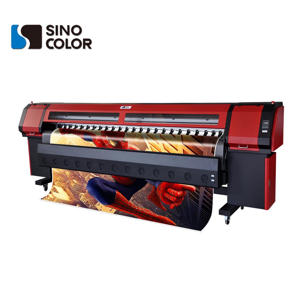 Vinyl sticker banner flex printing machine digital printing machine km 512i