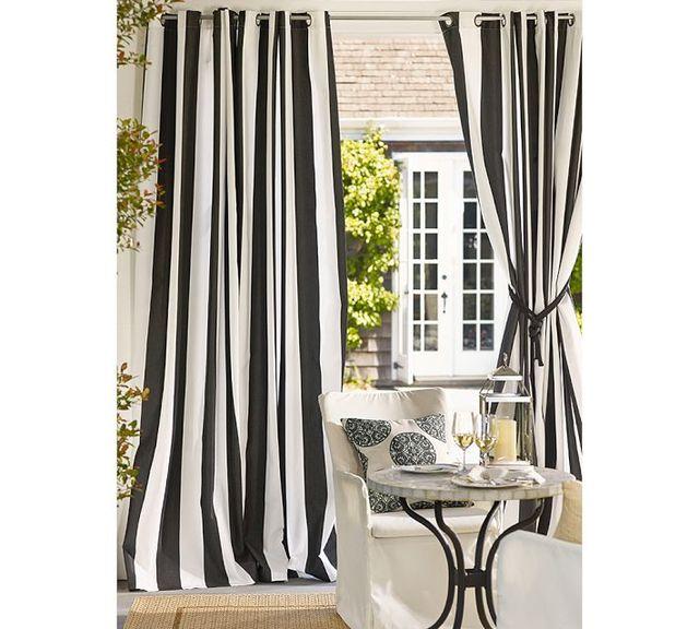 moderne style pais cavas noir et blanc bande verticale. Black Bedroom Furniture Sets. Home Design Ideas