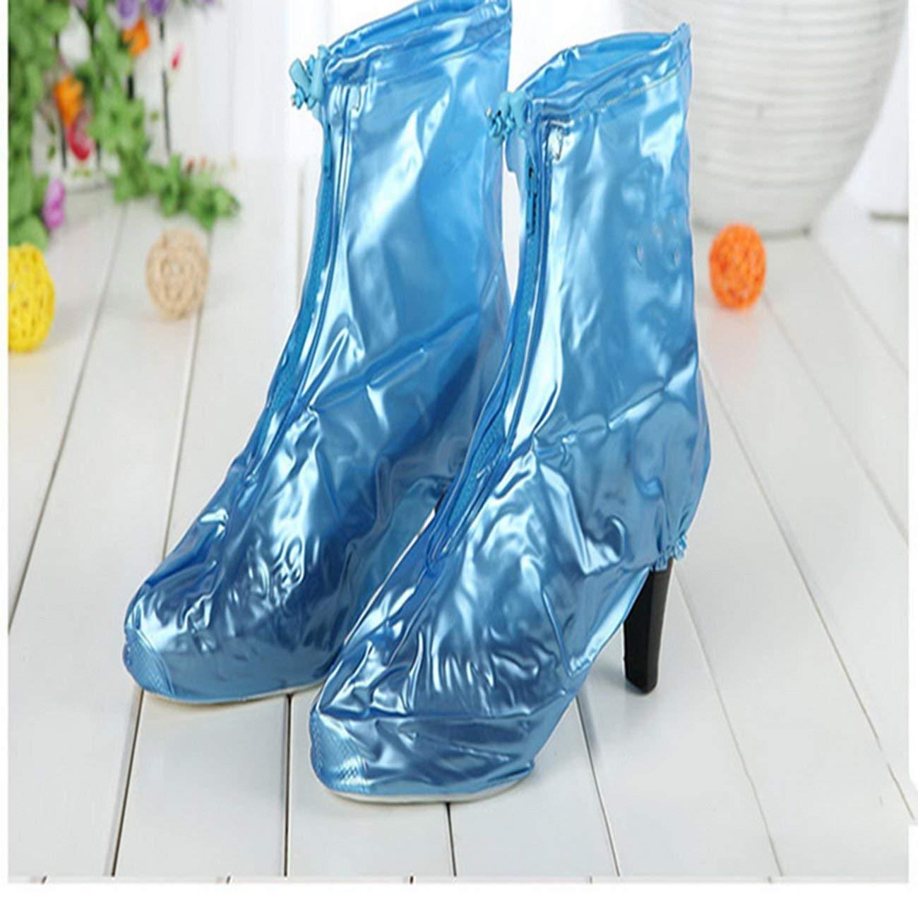 liuxiyux31liwx8x , Rain, shoes, women, thick bottom waterproof boots, shoes, men, women, non-slip rain, shoes, children's rain, rain shoe covers shoe covers, non-slip shoe covers rain, rain shoe c-01