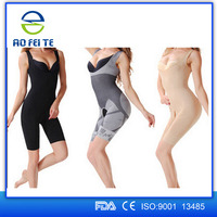 New Products 2016 Nylon Spandex women's bamboo charcoal slimming body shaper