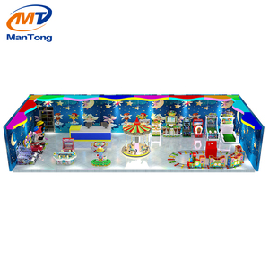 Mantong Merryland CE OEM coin operated children indoor playground equipments for Game Center