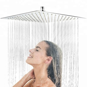ABS Material china bathroom faucet accessories chrome shower heads