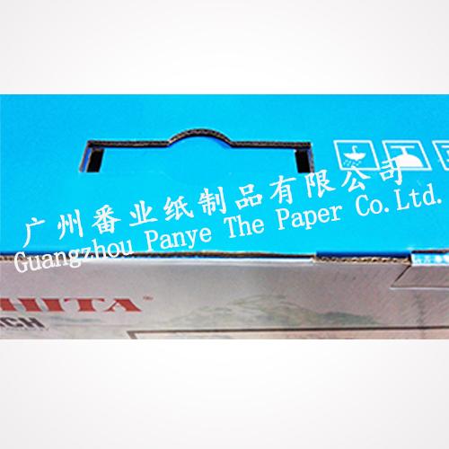 Aangepaste 7 lagen opvouwbare golfkarton dozen met logo voor LED TV verpakking