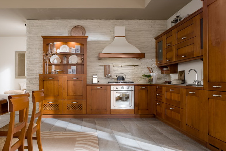 Massivholz Kirschholz Küche,Holzbau Schüttler Stil Kirsche ...