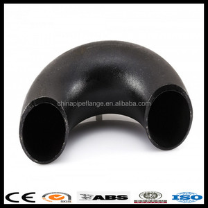 Black Butt-Welding Carbon Steel Elbow SPPG/SGP L/R ELBOW 90