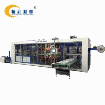 PLA corn starch disposable plate thermoforming machine