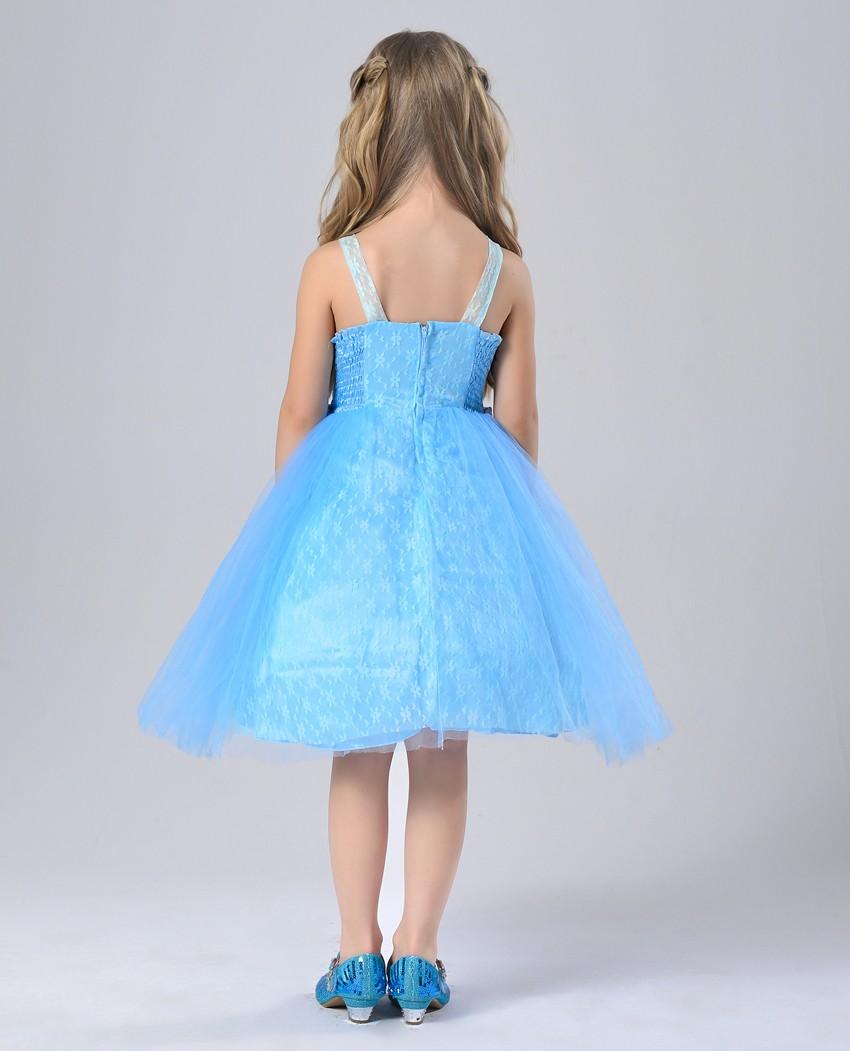 2016 New Model Frock Design Girls Free Prom Dress For Princess ...