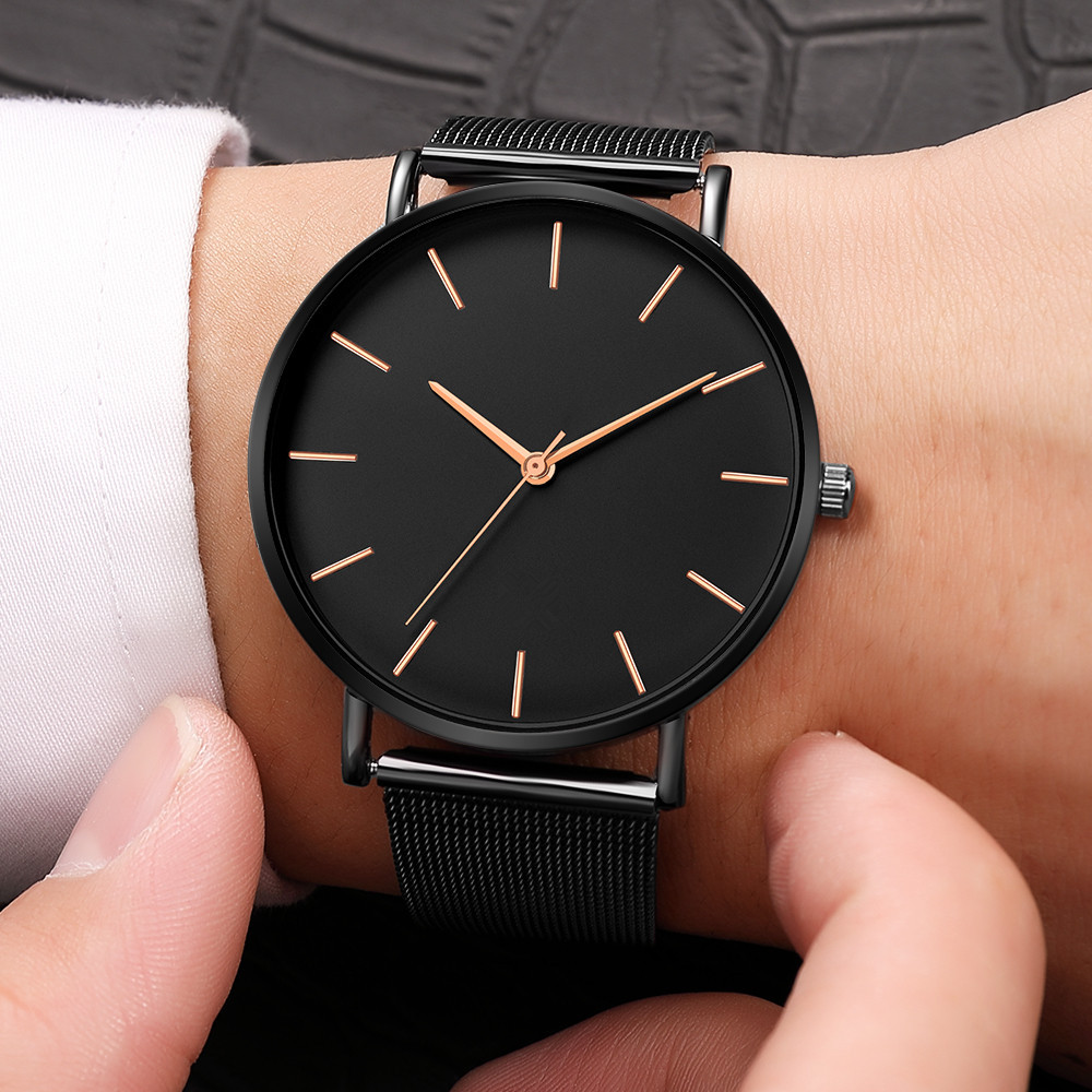 2019 Geneva Fashion Men Alloy Case Synthetic Leather Analog Quartz Sport Watch Mens Watches Top Brand Luxury Masculino Reloj Watches