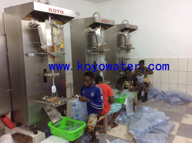 koyo sachet pure water machine nigeria